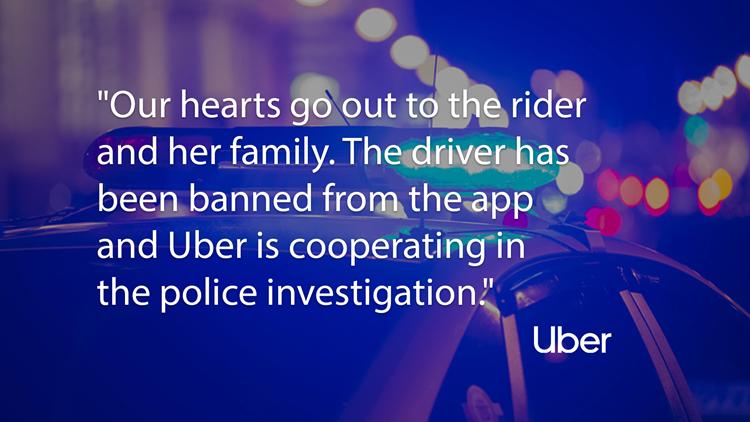 uber response crash