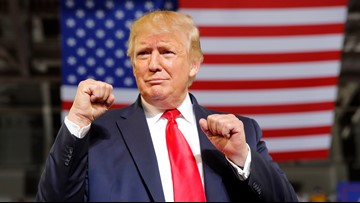 Trump slams congresswomen; NC crowd roars, 'Send her back!'