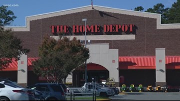 Bathroom warning mistaken for bomb threat at Kansas Home Depot store