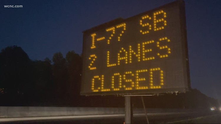 'Avoid it like the plague' | Planned I-77 south closure in Rock Hill coming next month