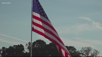 Massive flag totals $10,000 in fines from NC city, company says