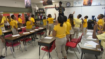 'We just understand it better': Dallas 5th graders rap their way through math