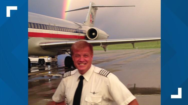 Capt. Scott Shankland outside an MD-80.