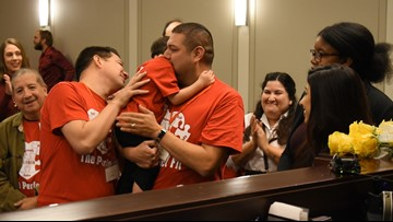 Fort Worth Adoption Day matches 19 kids with forever families