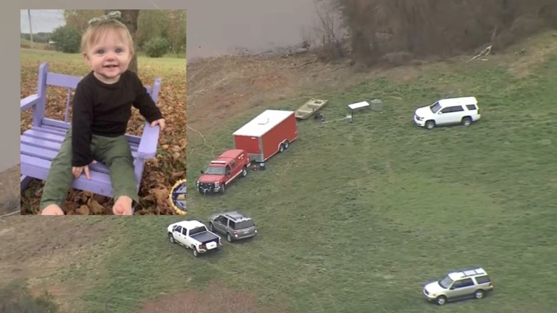 Search at Wilkes County pond for missing Tennessee baby deemed 'inconclusive'