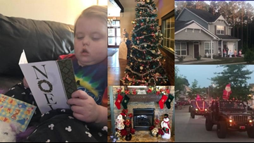 Christmas in May for 5-year-old girl with terminal brain cancer
