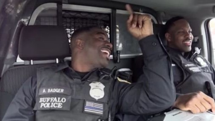 Viral a cappella singing police officers bring harmony to the streets