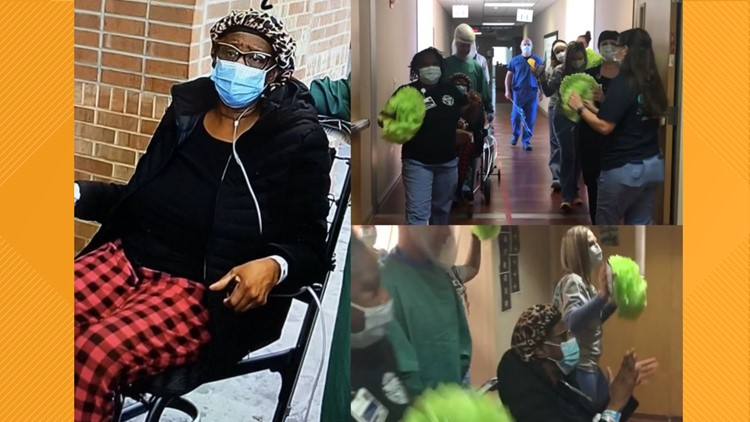 Hospital staff sings Pharrell Williams' 'Happy' as final patient leaves Cone Health's COVID-19 only facility