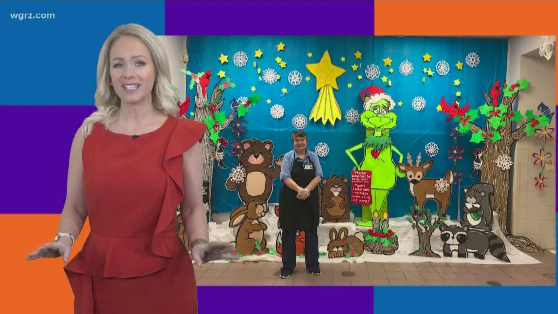 Meet Linda Kibler: The 'viral lunch lady' known for her life-size, handmade holiday scenes ...