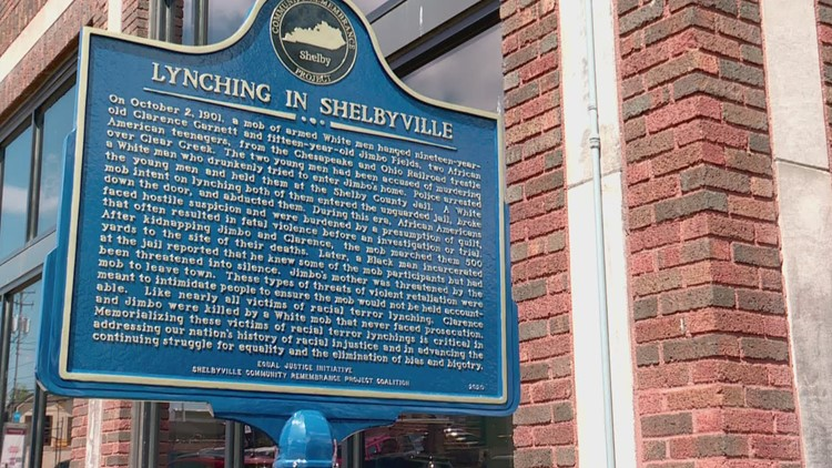 Shelby County in Kentucky to install marker remembering lynching victims