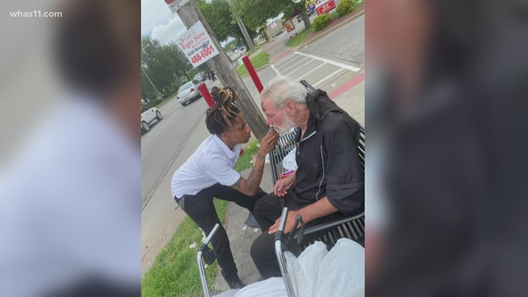 Louisville woman's generous act goes viral, inspires compassion in neighborhood