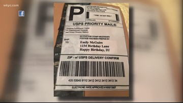 NC Woman gets Amazon-box shaped birthday cake