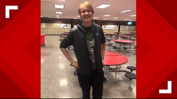 Teen loses more than 100 pounds by walking to school each day