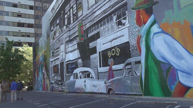 Local artist creates mural commemorating Black history in Columbia