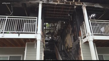 Residents starting over after apartment fire leaves 38 without a home
