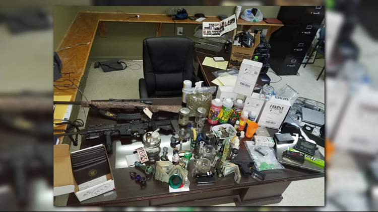 Marijuana, Meth and Heroin Only Part of Major Bust in Sumter County