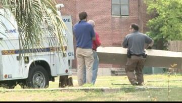 Police return to Allen Benedict Apartments