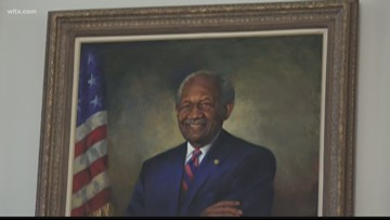 Longest serving African American in S.C. General Assembly honored with portrait after 45 years of public service