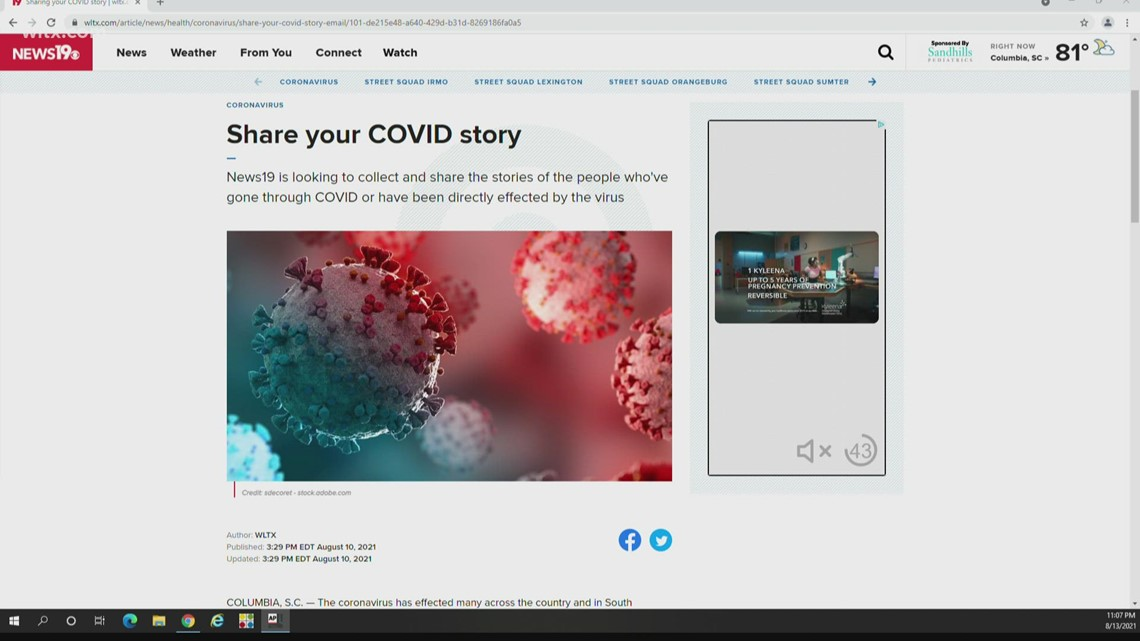 Share your COVID-19 story
