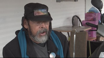 Local man talks about his work with the homeless