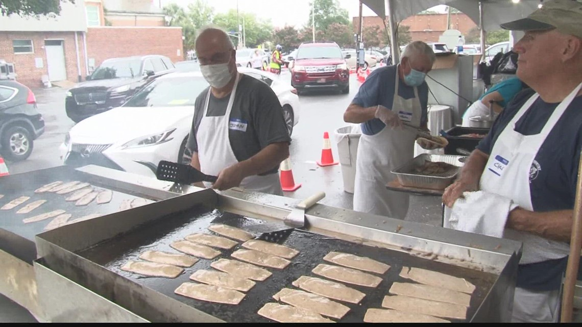 Greek Festival opens as a drive-thru due to COVID