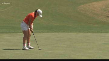 Catching up with Lexington's Gracyn Burgess at Clemson