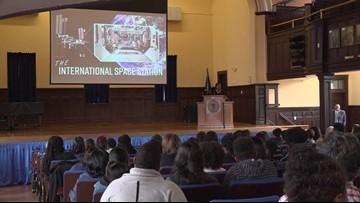'Life changing:' NASA Leader visits Allen University