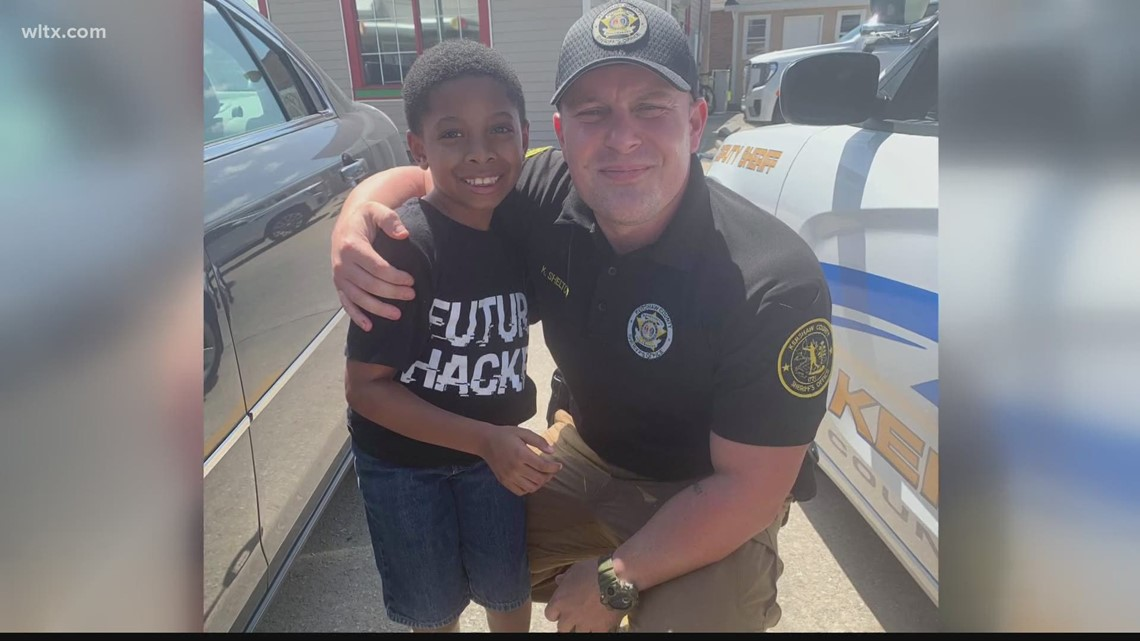 South Carolina child makes a friend, changes his outlook on law enforcement