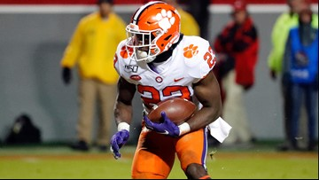 Clemson rises in latest College Football Playoff poll
