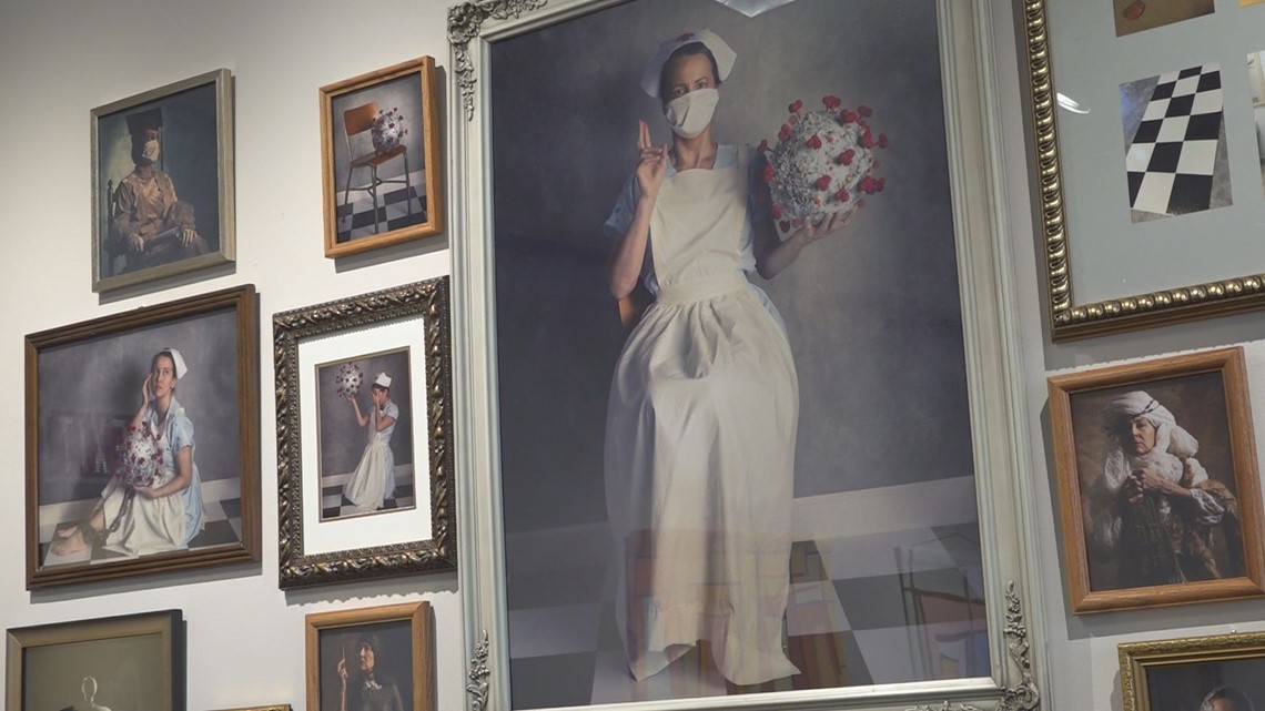 Irmo photographer featured in exhibit for COVID themed self-portraits