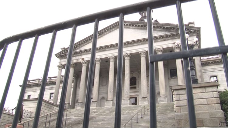 Police prepare for protests in Columbia ahead of inauguration