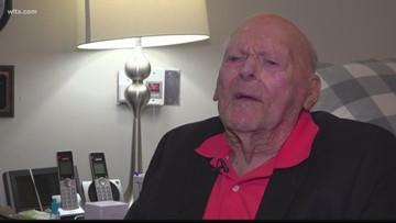 107-year-old World War II veteran remembers fighting in the Pacific