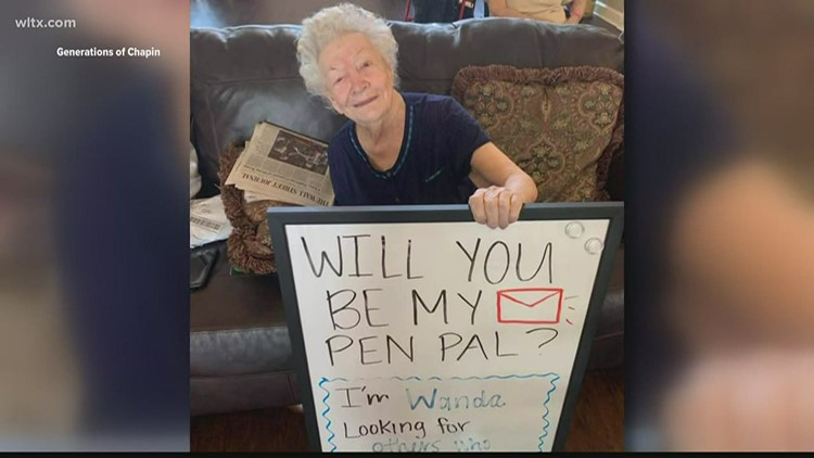 Chapin nursing home residents looking for pen pals