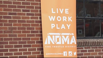 Columbia officials tour businesses in 'NOMA' district