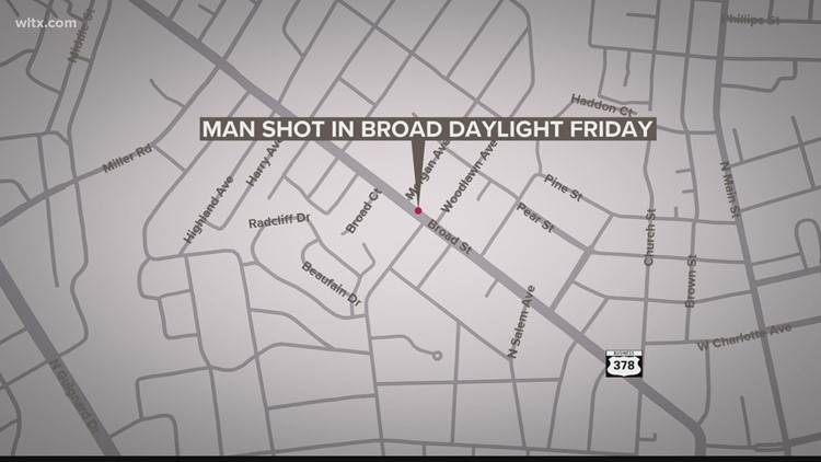 Four men charged in fatal shooting on Broad Street in Sumter