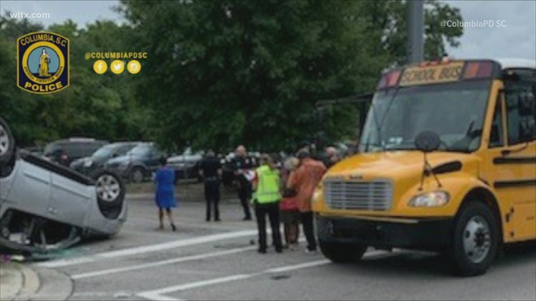 Richland One school bus accident sends student to hospital