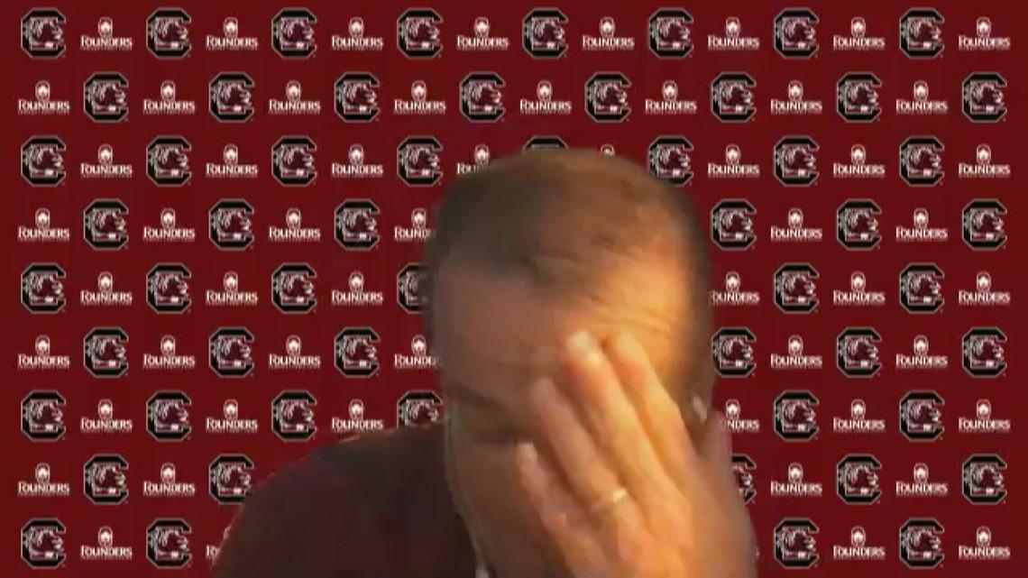 Reaction from the Gamecock locker room