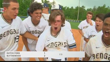 Blythewood Wins A Thriller In Game One Of The State Baseball Championship Series