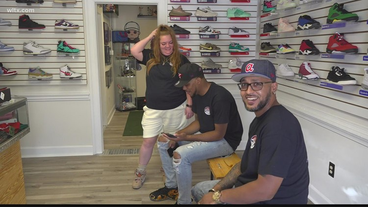 New sneaker store opens on Gervais Street