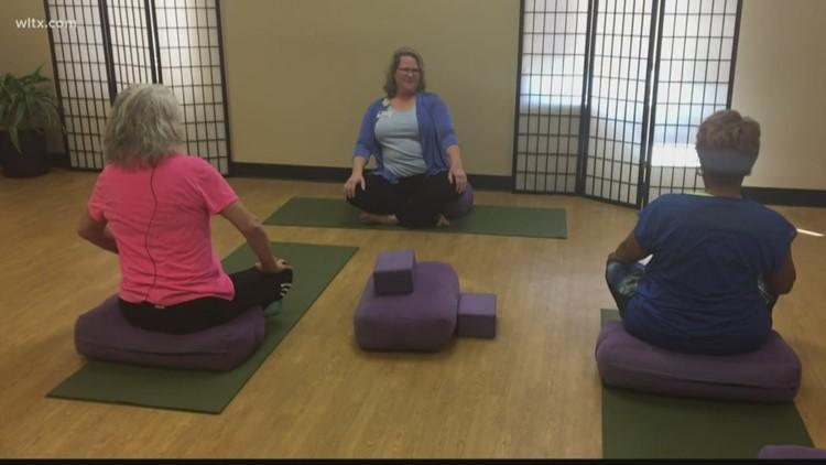 Yoga helps Lexington Medical Center cancer patients