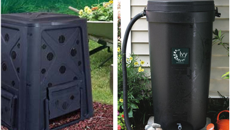 GARDENERS: Compost bins and rain barrels offered at discounted price