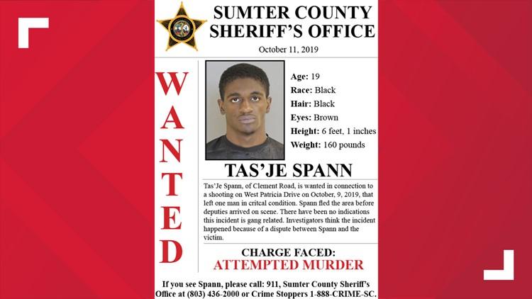 Wanted: Tas'Je Spann