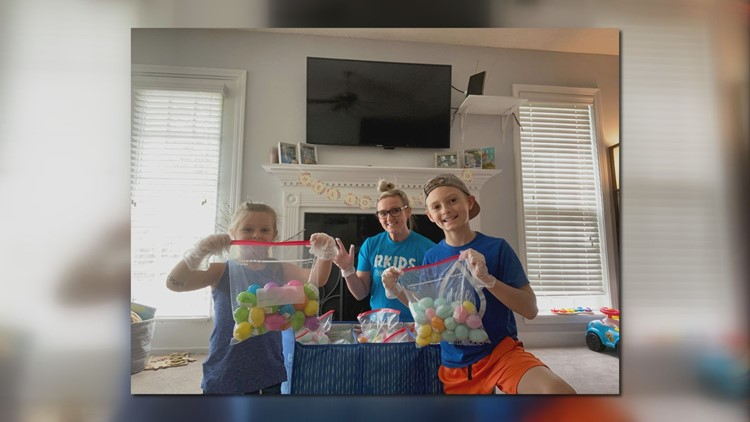 Local church gets creative with East egg hunt during coronavirus outbreak
