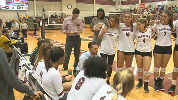 The USC volleyball team eyes a return to the NCAA Tournament