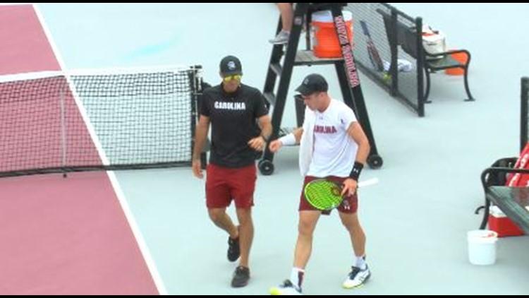 South Carolina men's tennis pushes Florida to the limit