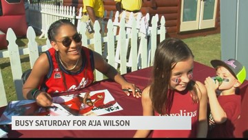 A'ja Wilson Is A Part Of The Kickoff To 2018