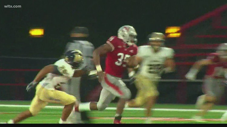 Highlights from games at Newberry College and The Citadel
