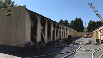 Fire causes $50,000 in damage at Columbia storage units