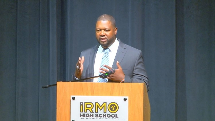 Aaron Brand takes the reigns at Irmo