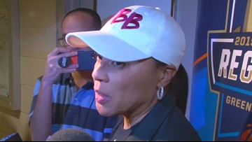 Dawn Staley Previews Sweet 16 Baylor Matchup